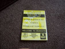 Bamber Bridge v Worksop Town, 1995/96 [PC]